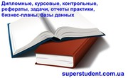 Дипломные,  курсовые,  отчеты практики,  бизнес-планы,  рефераты,  задачи